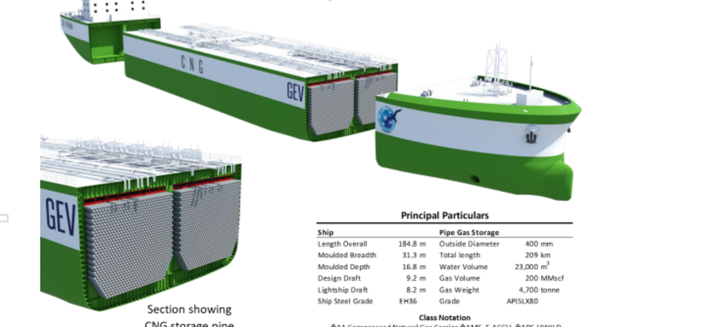 GEV progresses CNG ship plans