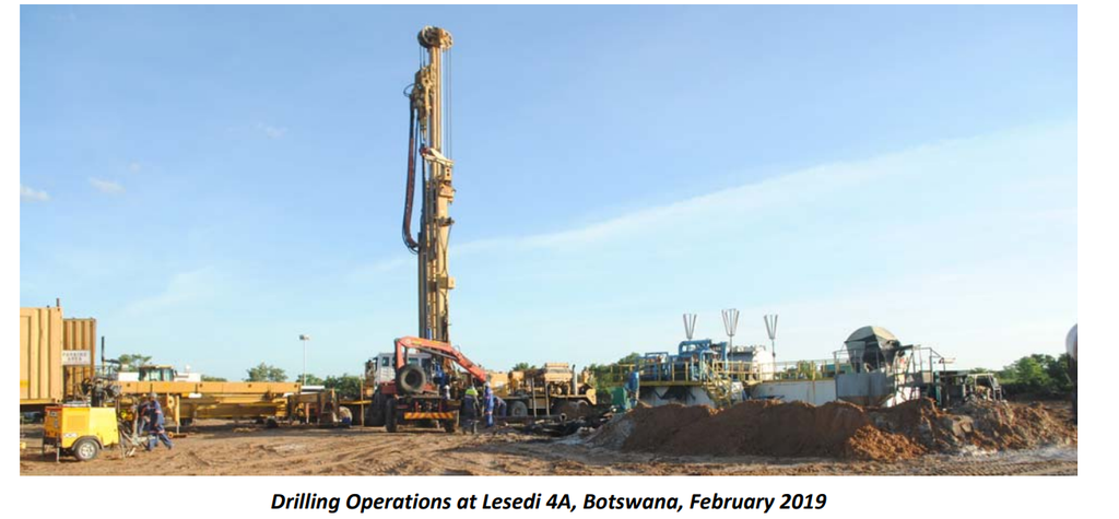 Tlou notes positive results from Lesedi-3 and 4 wells