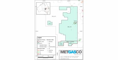 Metgasco farms into Cooper