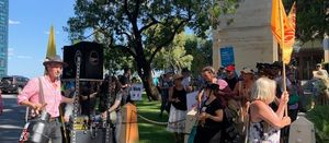 Five Extinction Rebellion protesters arrested at WA parliament