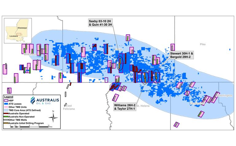 Australis claims strategy in US shale still valid