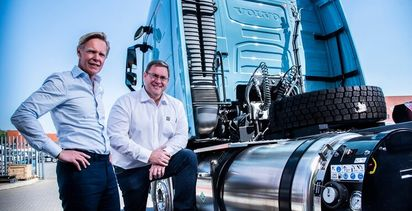 Volvo starts testing LNG trucks in South Africa