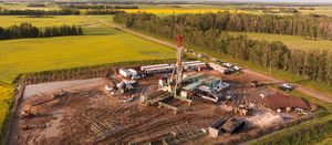 Wizard Lake gas close to market