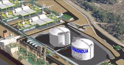 Magnolia capacity increase application progresses