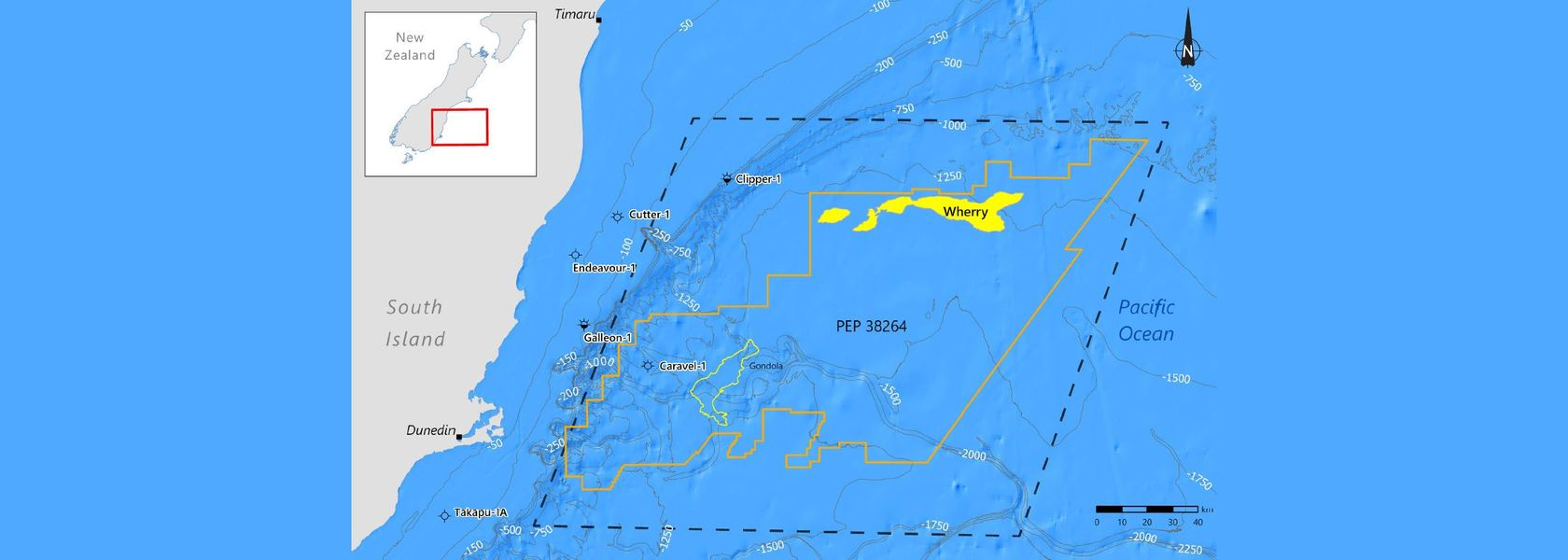 Beach Energy to explore Canterbury Basin offshore New Zealand