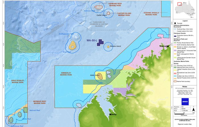 Inpex announces Ichthys phase 2 drilling program