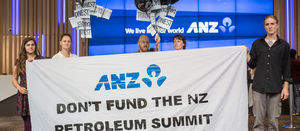 NZ activists hit up banks to divest from fossil fuel companies