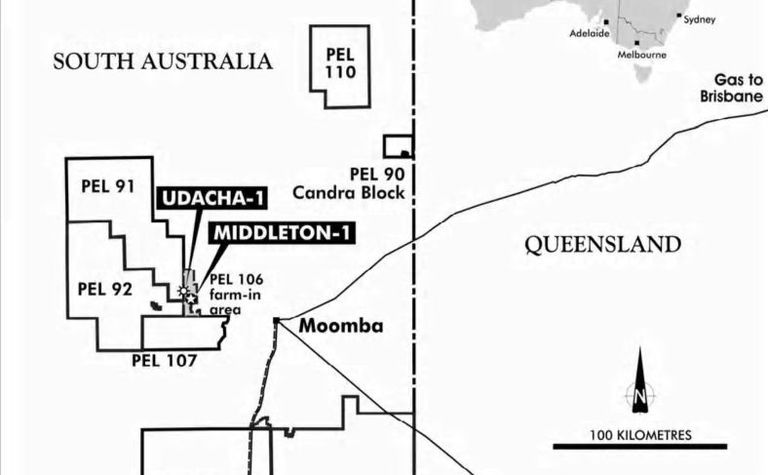 Middleton gas flows are one of Cooper Basin's biggest