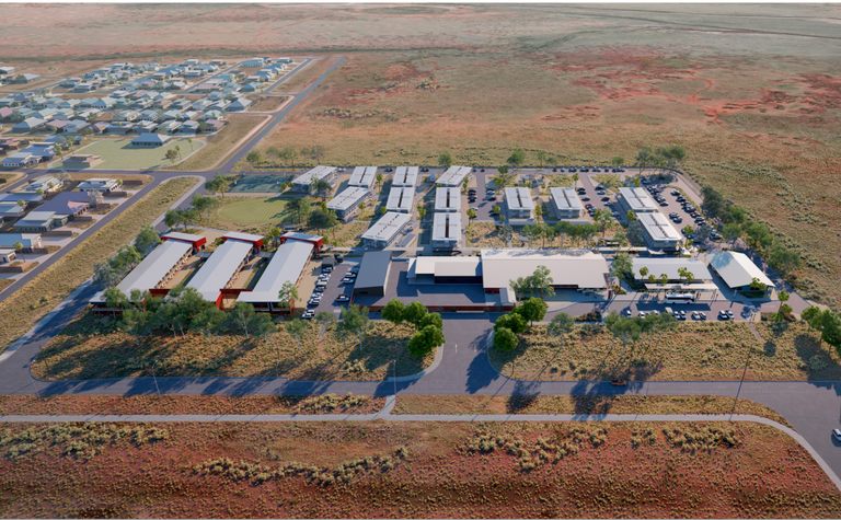 Work begins at Woodside FIFO camp