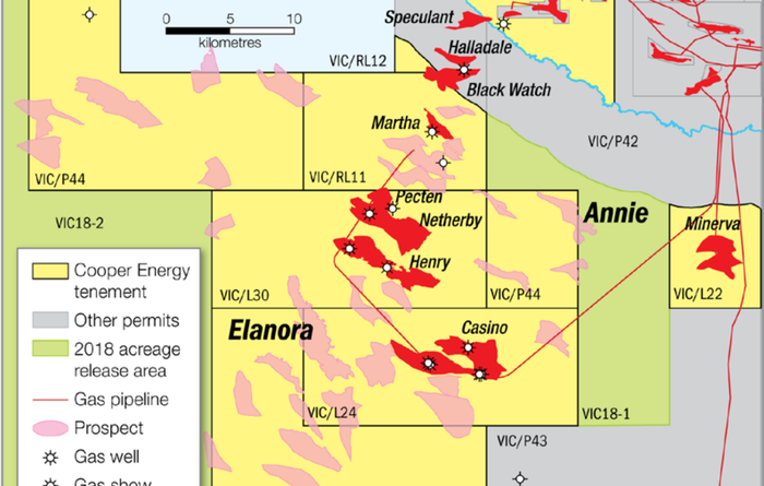 Cooper spuds first exploration well in offshore Otway in seven years