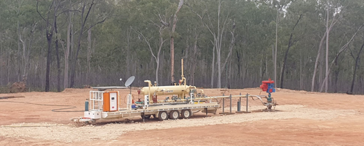 State Gas mobilises rig for four well campaign