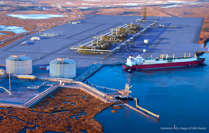 Cameron LNG up and running