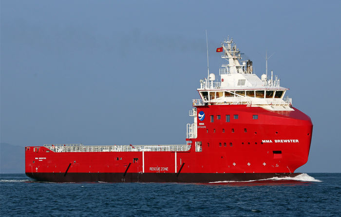Brewster named for Ichthys support