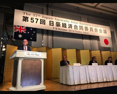 Australia-Japan relationship vital for energy transition: Coleman