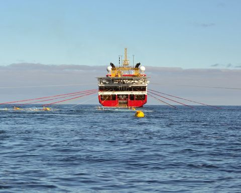 Searcher completes seismic dataset for offshore Peru