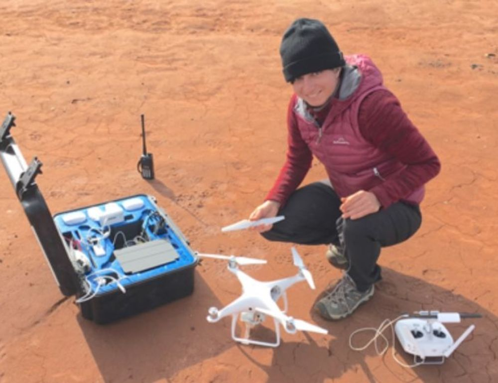 Woodside fosters drone research