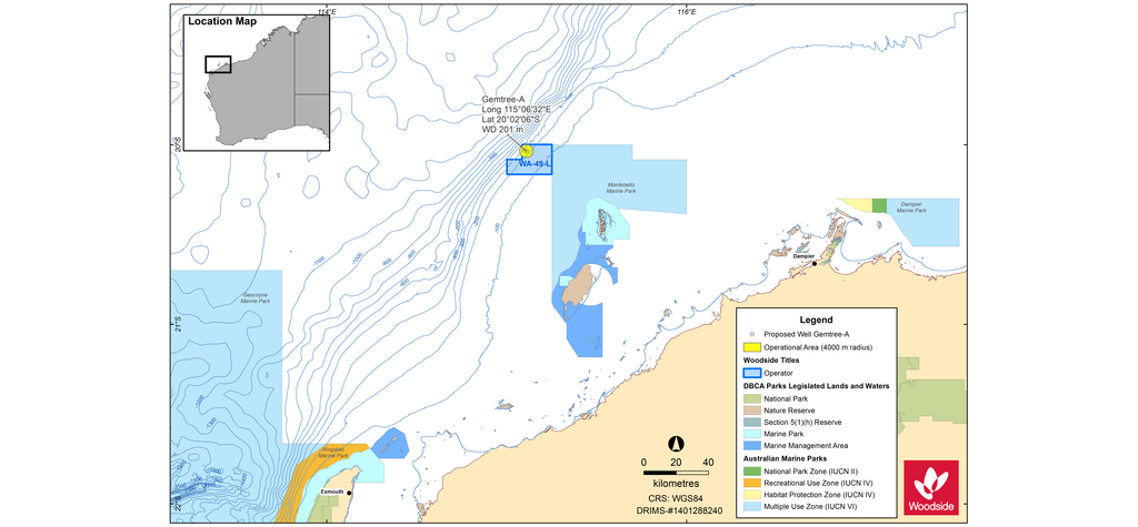 Woodside to drill exploration well off WA