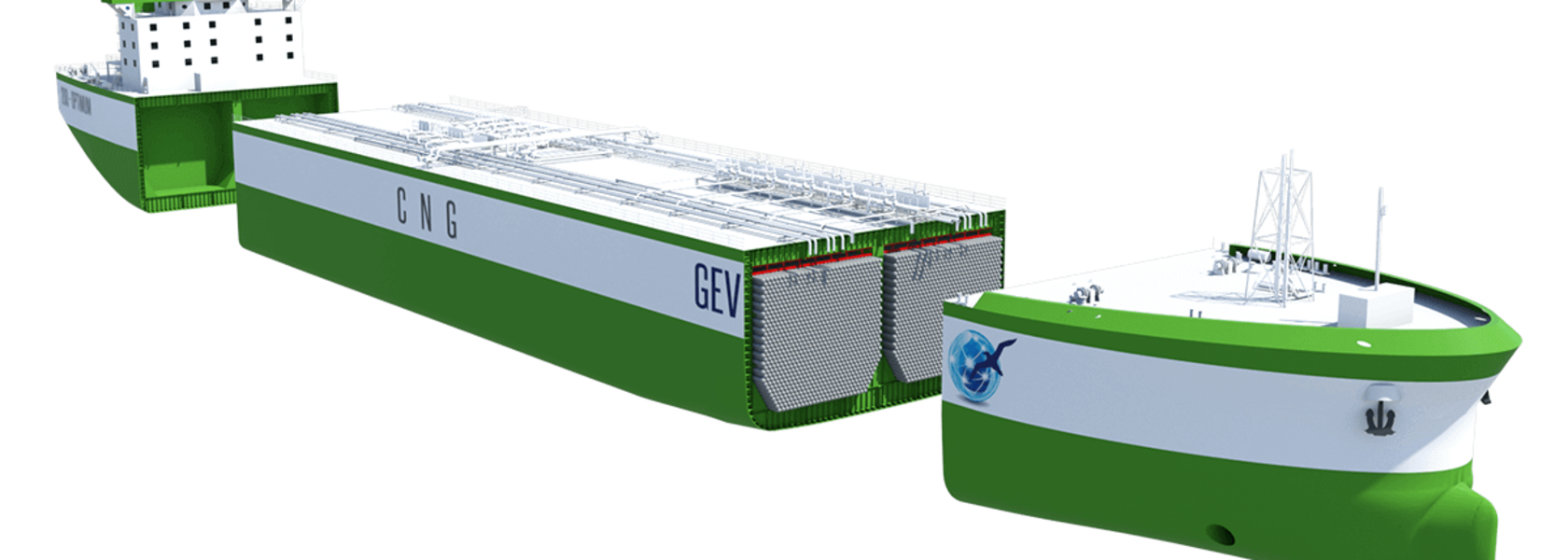 Land in sight for GEV's CNG Optimum ship
