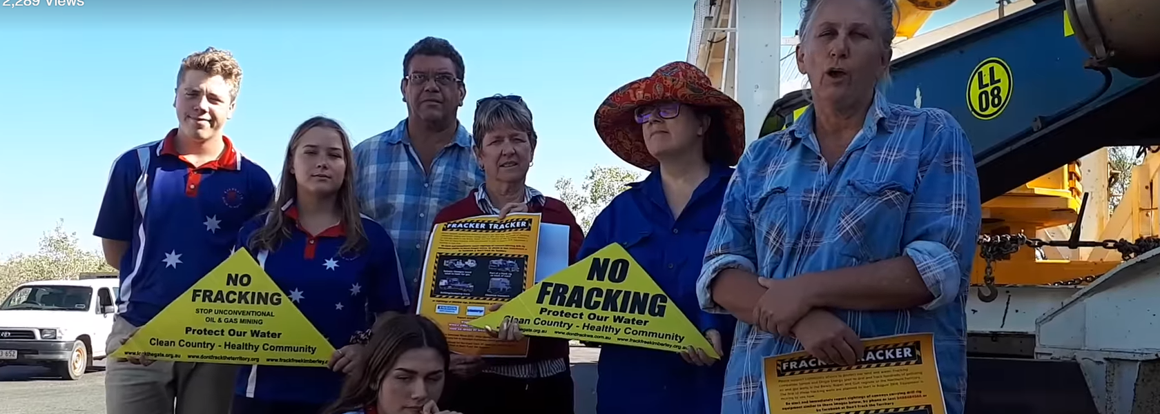 Protesters attempt to disrupt rig mobilisation in NT