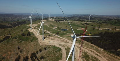 Australia in the top three for renewables globally
