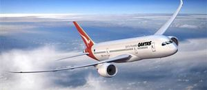 Qantas green jet fuel test flight