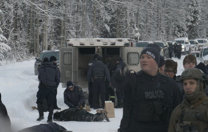 Protests a roadblock to LNG Canada pipeline