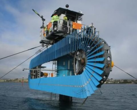 Tidal power starts development