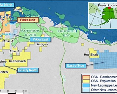 Oil Search expands in Alaska with Pikka- analogous acreage