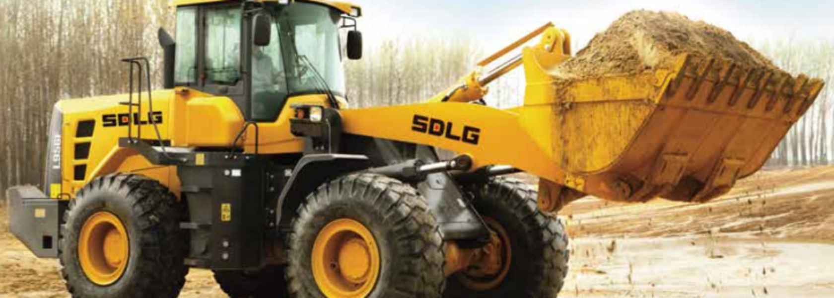 SDLG loaders aid in efficient cement construction from oil waste