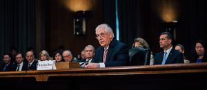 Exxon ex-boss Tillerson testifies on climate fraud in NY