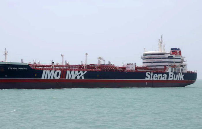 Tensions rise in Strait of Hormuz after Iran seizes British tanker