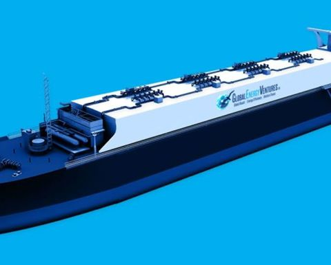 GEV injects cash to progress CNG ship
