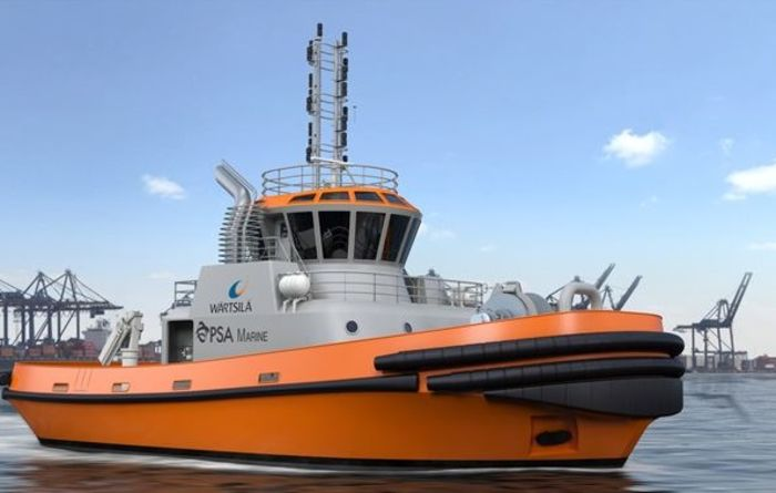 Wartsila to design PSA's first LNG-powered tug