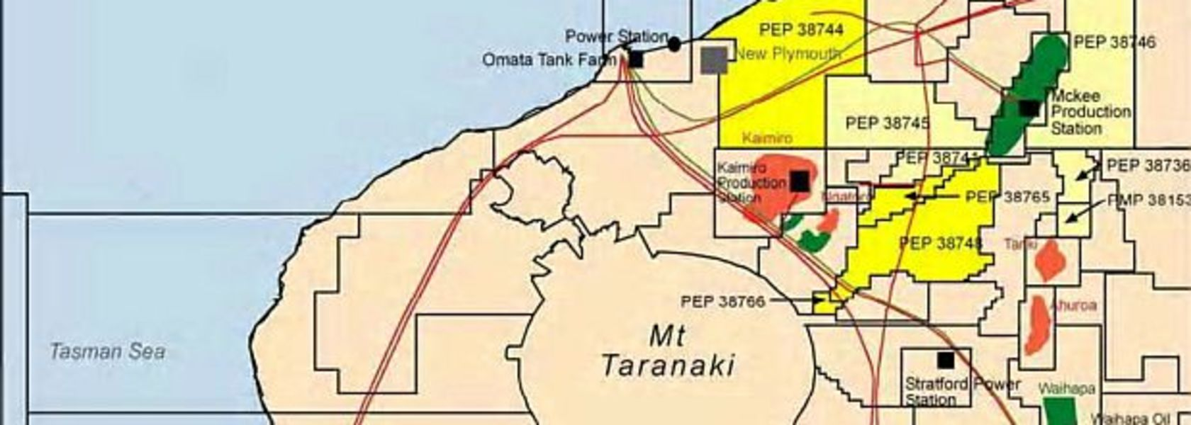 Tap to move out of onshore Taranaki