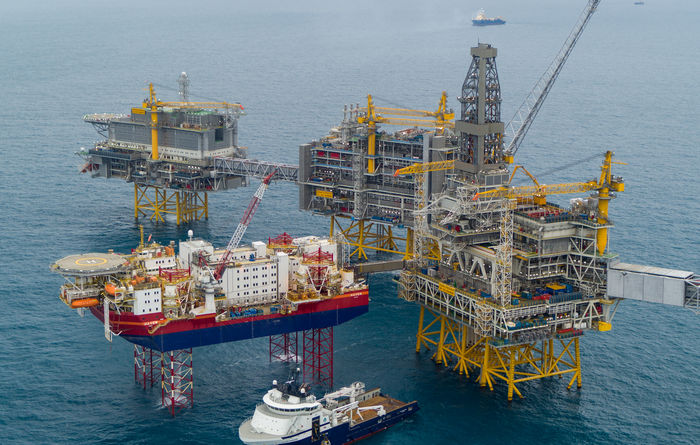 Equinor celebrates first oil at Johan Sverdrup