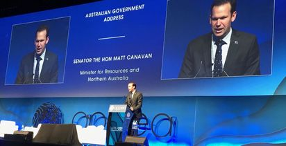 Canavan sends message to state governments to embrace gas industry
