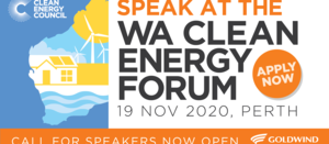 Clean Energy Council seeking experts for next WA forum