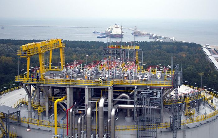 Cheniere LNG cargo arrives in Poland