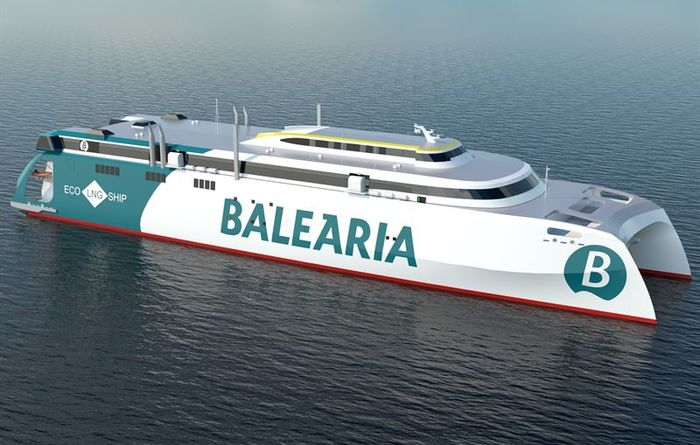 Wartsila chosen for world's largest high speed LNG catamaran