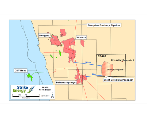 Strike upgrades West Erregulla discovery