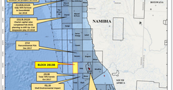 Calima rubs shoulders with supermajors in offshore Namibia