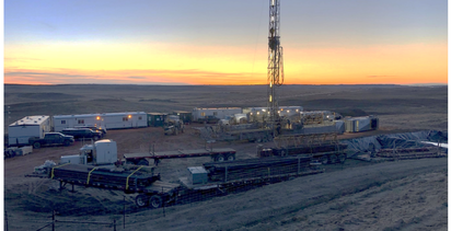 Disappointing results for Eon's Powder River Basin well