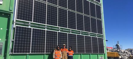 Australia trials solar power system in Antarctica