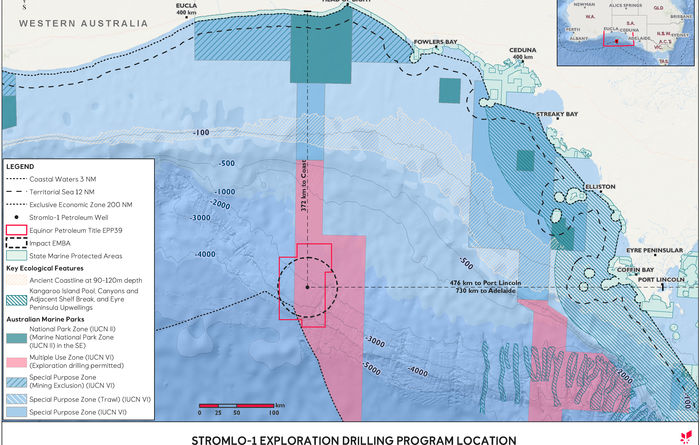 Equinor told to resubmit proposal to drill Stromlo-1