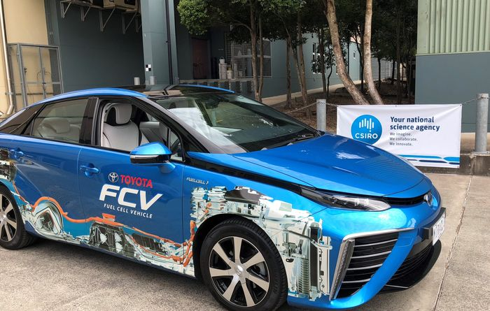 Ammonia derived hydrogen fuels cars in Australian first