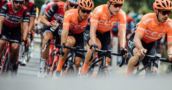Santos celebrates 10 years as major sponsor of Tour Down Under