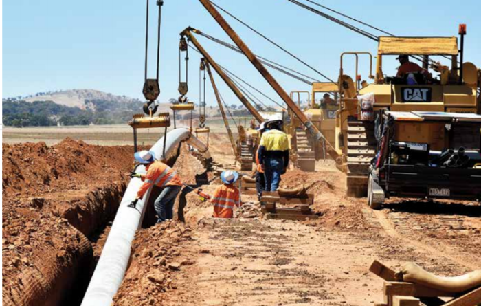 Pipeliners expand thanks to tight east coast market