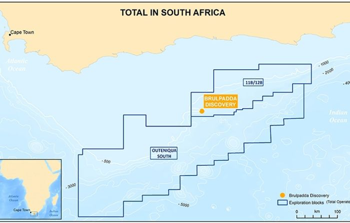 Massive deepwater 1Bbbl discovery off South African coast