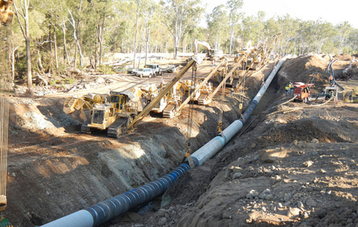 Bids lined up for QCLNG pipeline assets