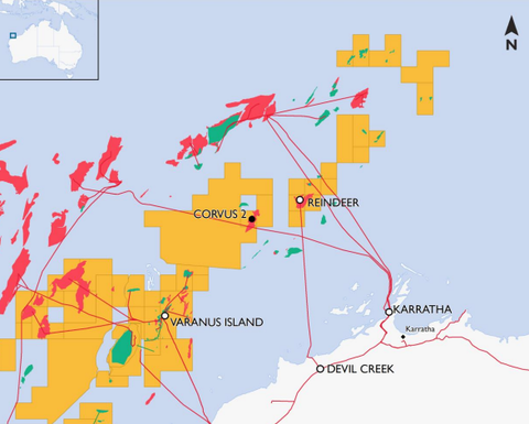 Santos makes huge NWS gas hit